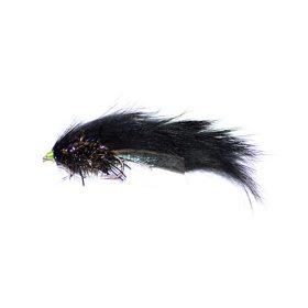 Zonker Hot Tail Streamer Black 2