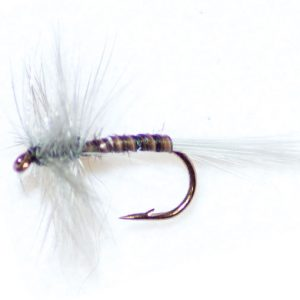 Blue Upright Hackle
