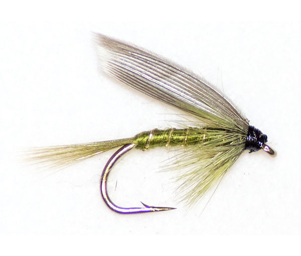 50 mixed wet trout flies for traditional wet fly trout for Wet fly fishing