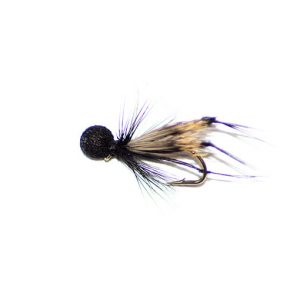 Hopper Half Hog Black and Red Booby Head