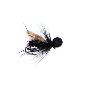 Hopper Half Hog Black Sparkle Booby Head