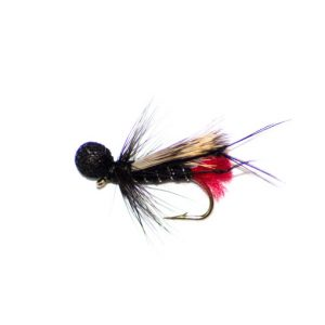 Hopper Half Hog Black Zulu Booby Head