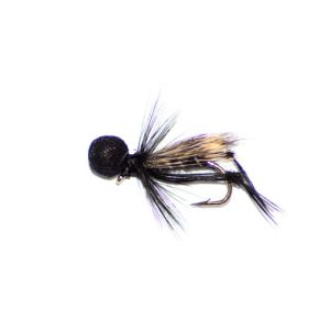Hopper Half Hog Black and Silver Booby Head