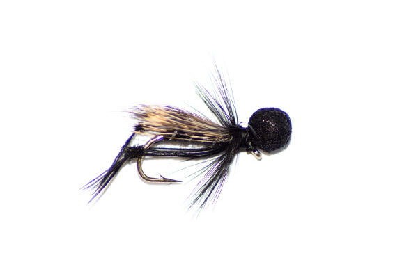 Hopper Half Hog Black and Silver Booby Head