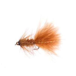 Brown Woolly Bugger Goldhead