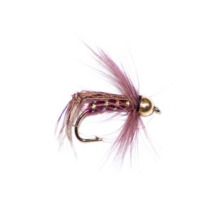 Claret Hackle Hopper Goldhead