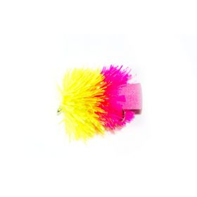 Competition Pink and Yellow FAB (foam blob) 2