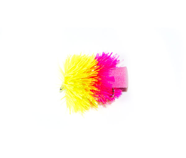 Competition Pink and Yellow FAB (foam blob)