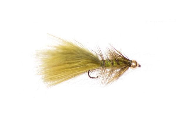 Olive Damsel Nymph Goldhead