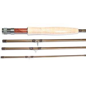 "Fish Fishing Tackle Stillwater x 4 9ft 6"" 6 / 7 IM8 Carbon Fibre Fly Rod"