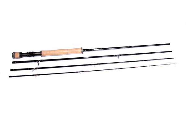Fish Fishing Tackle Troutmaster x 4 9ft 6 / 7 IM8 Carbon Fibre Fly Rod