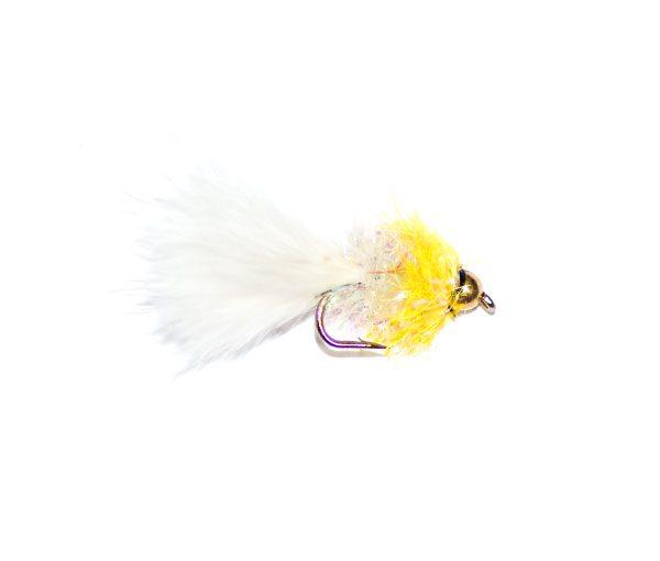 Fritz Bibby White & Yellow Goldhead