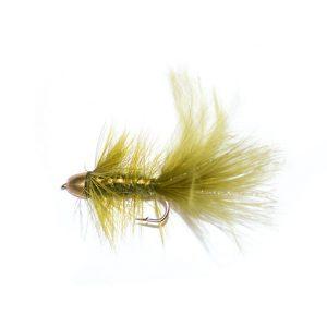 Olive Flash Gold Bullet Head