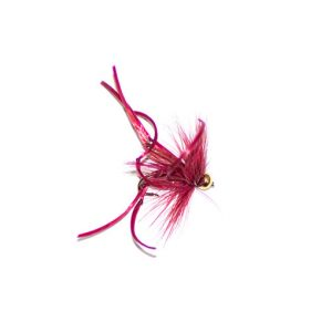 Goldhead Claret Flexi Body Daddy Long Legs