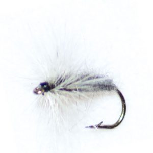 Grey Duster Hackle