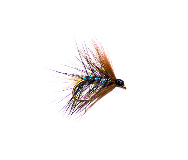 Kate Mclaren Pearly trout fishing fly from fish fishing flies.