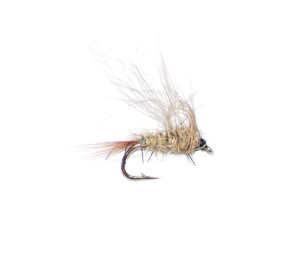 1 dozen Blue-winged Olive 12 - CDC Loop Wing Emerger