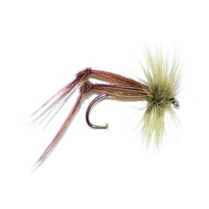 Olive Hopper Hackle