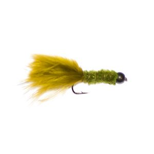 Olive Weighted Tadpole Lure