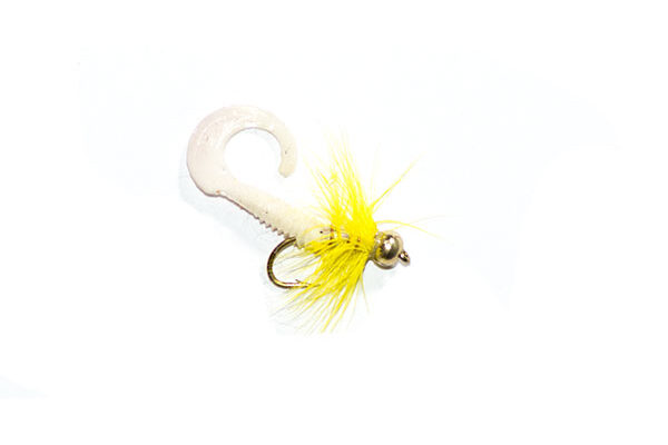 Yellow Dancer Waggle Tail Lure