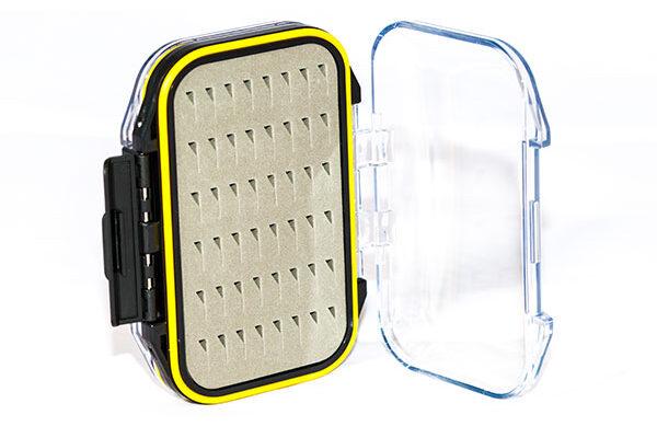 Waterproof Acrylic Fly Box ( holds 96 standard flies) FREE x 8 Flies