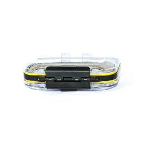 Waterproof Acrylic Fly Box ( holds 154 standard flies) With 44 Wet Flies
