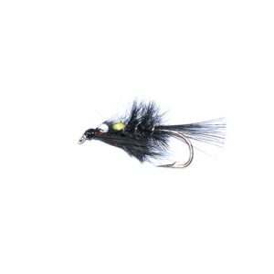 Diawl Bach Black Hackle SJC Nymph