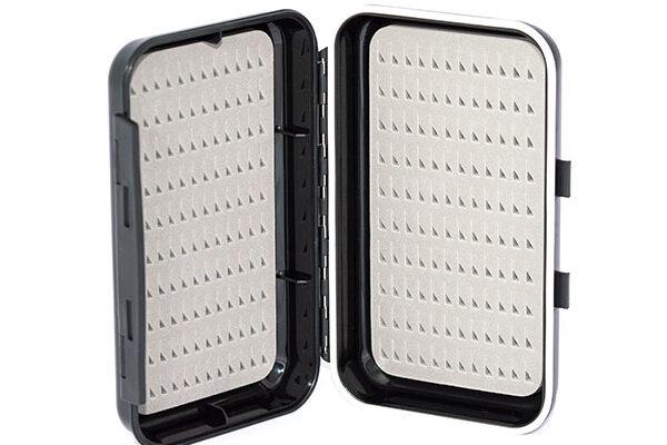 Waterproof ABS Plastic Moulded Fly Box ( holds 240 standard flies) FREE x 8 Damsel Nymphs