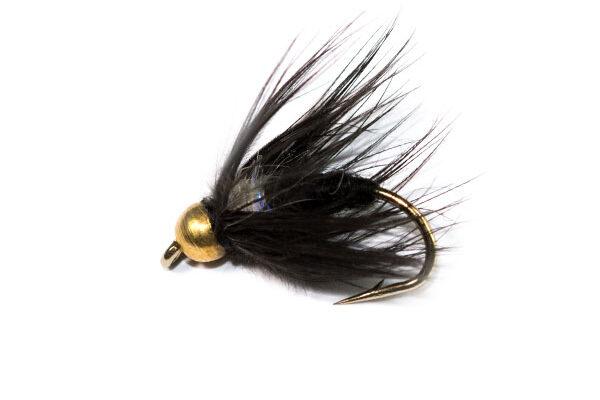 Black Spider Goldhead UV Straggle Thorax