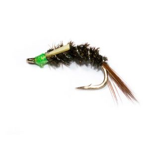 Green Head Diawl Bach Nymph
