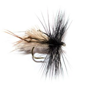 Natural Goddard Caddis Black Hackle Brown Legs Hopper