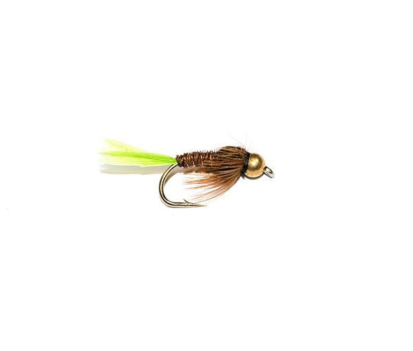 Pheasant Tail Nymph Goldhead Green Tail