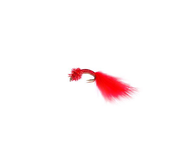 Red Fritz Marabou Blood Worm