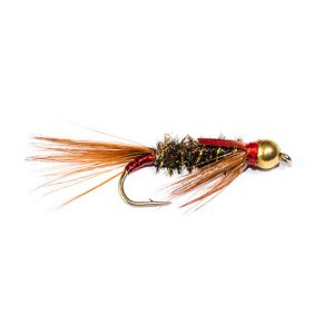 Diawl Bach 3D Flash Red Cheek Goldhead