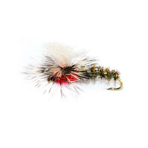 Dry Parachute Emerger Red Head Special