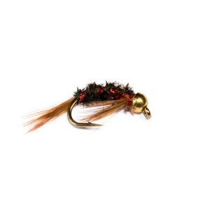 Goldhead Red Rib Diawl Bach Nymph