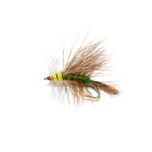 Mini Stimulator Green Dry Fly