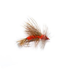 Orange Stimulator Dry Fly