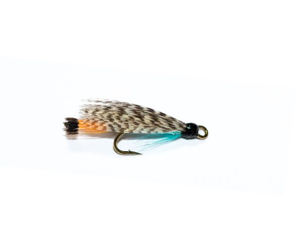 Teal Blue & Silver Double Wet Fly