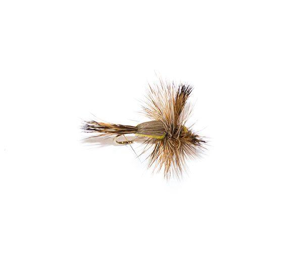 Yellow Humpy Dry Fly