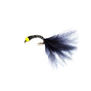 Fluo Head Black Mini Bloodworm