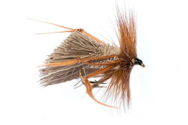 Natural Deer Hair Hopper Brown Legs