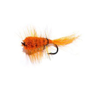 Orange Bomber Salmon Fly