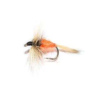 Grey Hen & Rusty dry fly