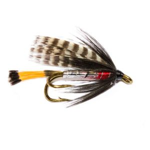 Silver Stoats Tail Double Wet Fly