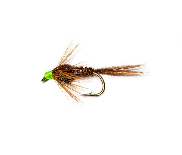 Pheasant Tail Nymph Green Head Weighted