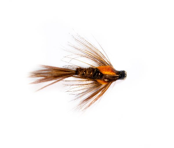 Pheasant Tail Orange Nymph Weighted