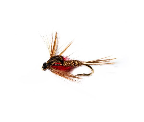 Pheasant Tail Nymph Red Weighted