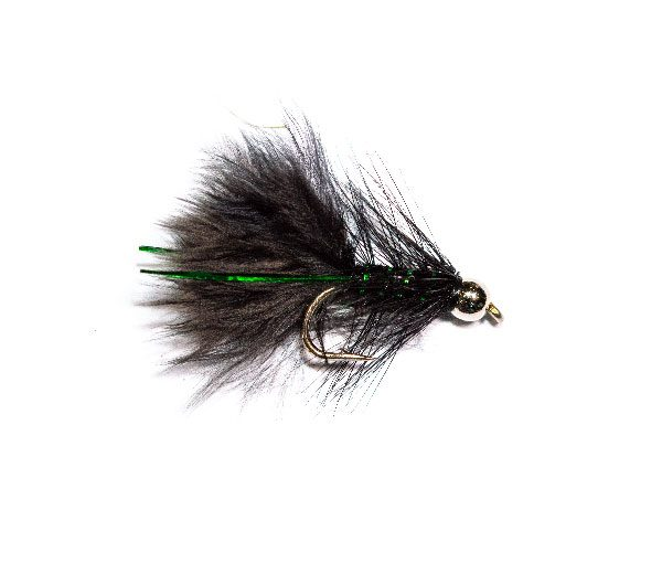 Silver Head Black Flash Damsel