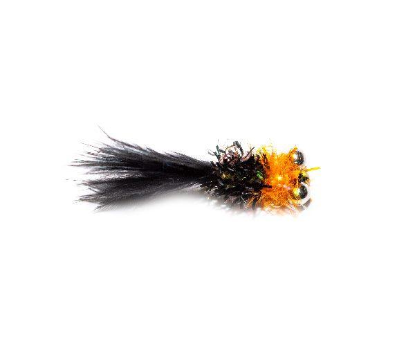 Bead Eyes Fritz Bibby Black and Orange